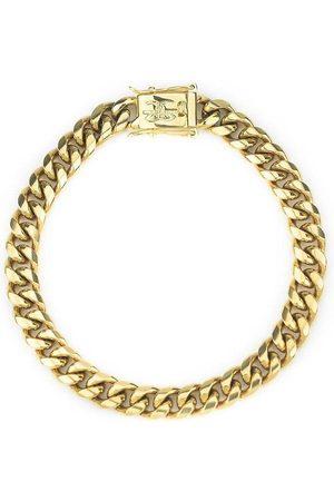 "The Gold Gods 8mm Miami Cuban Link 8.5"" Bracelet amarillo"