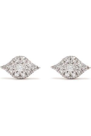 DJULA Pendientes Eyes en oro de 18kt con diamantes