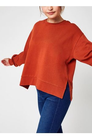 Knowledge Cotton Apparal Mujer Sudaderas - ERICA A-shape Fashion Sweat - GOTS/Vegan