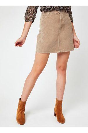 Knowledge Cotton Apparal Mujer Faldas - ROMY 5-pocket Baby Cord Skirt - GOTS/Vegan