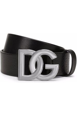 Dolce & Gabbana Hombre Cinturones - Cinturón con hebilla del logo