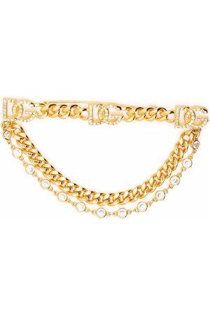 Dolce & Gabbana Broche con cadena DG