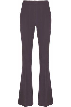 BLANCA Mujer Pantalones acampanados - Pantalones ajustados acampanados