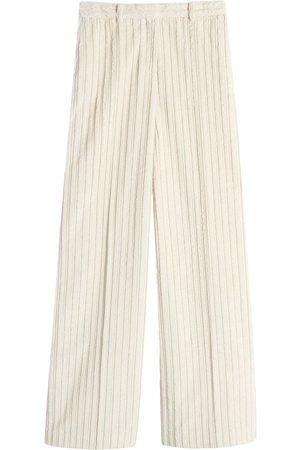 Victoria Victoria Beckham Mujer Pantalones anchos y harén - Pantalones palazzo de pana