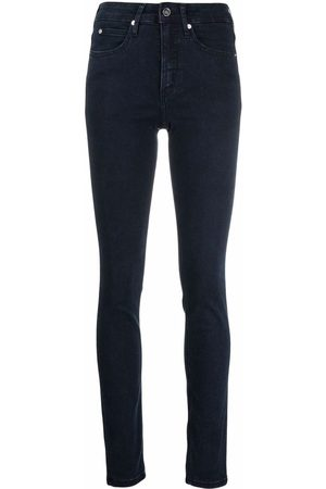 Calvin Klein Mujer Cintura alta - Mid-rise skinny jeans