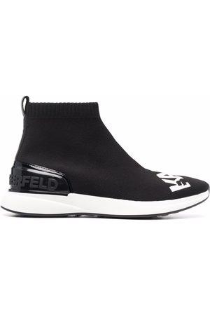 Karl Lagerfeld Mujer Botas - Botas Finesse Legere estilo calcetín con logo