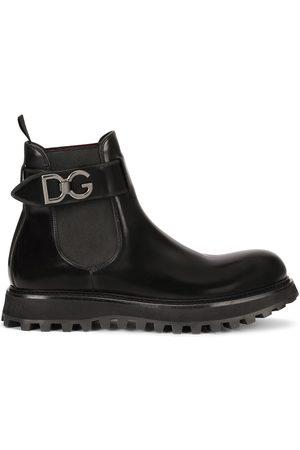 Dolce & Gabbana Botas chelsea con correa