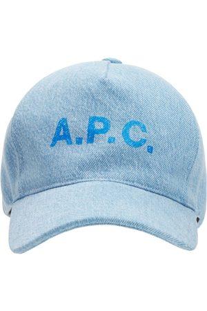 """A.P.C. Hombre Gorras -   Hombre Gorra De Baseball """"casquette"""" De Algodón 56"""