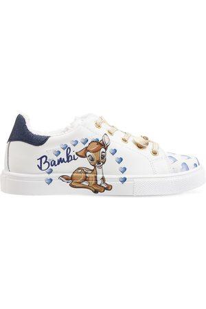 MONNALISA | Niña Sneakers Bambi De Piel 25