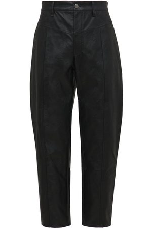 KOCHÉ   Hombre Pantalones De Piel Ecológica 46