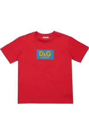 Dolce & Gabbana | Niño Camiseta Oversize De Algodón Con Logo 8a