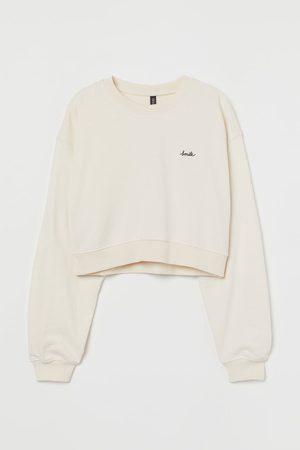 H&M Mujer Crop tops - Sudadera cropped