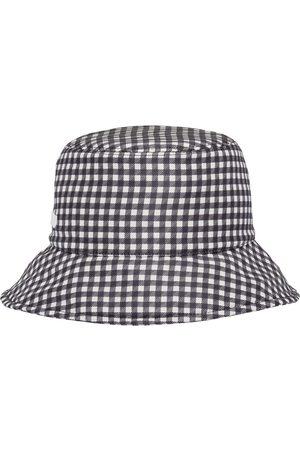 Miu Miu Mujer Sombreros - Sombrero de pescador a cuadros gingham