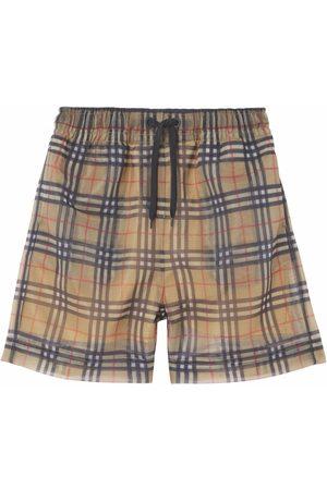 Burberry Mujer Pantalones cortos - Shorts con motivo Vintage Check