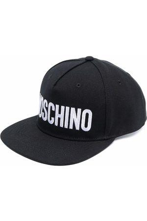 Moschino Gorra de lona con logo estampado