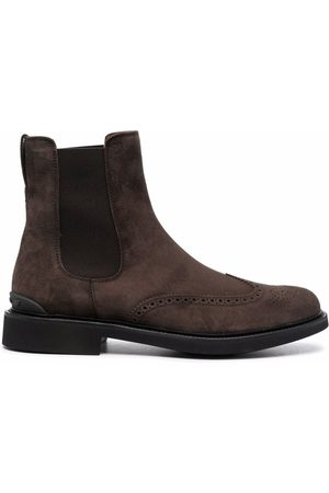 Tod's Perforated Chelsea boots