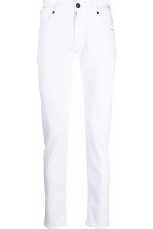 PT01 Hombre Slim - High-rise fitted jeans