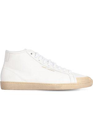 SAINT LAURENT Hombre Zapatillas deportivas - | Hombre Sneakers De Lona De Algodón 43.5
