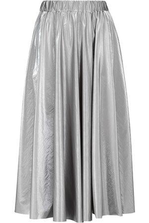 Moncler Falda plisada de tiro alto