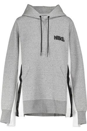 Nike X sacai sudadera en mezcla de algodón