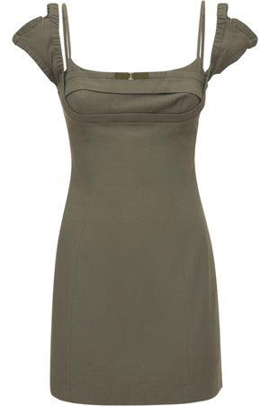 JACQUEMUS Mujer Mini y ajustados - | Mujer Vestido Mini La Robe Kibo De Lino Y Viscosa 32