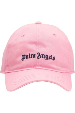 PALM ANGELS   Niña Gorra De Baseball De Gabardina De Algodón I