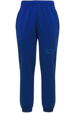 MARTINE ROSE Hombre Pantalones slim y skinny -   Hombre Pantalones Slim Fit De Jersey De Algodón S