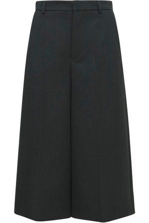 Saint Laurent | Mujer Pantalones Bermuda De Tricotin 34