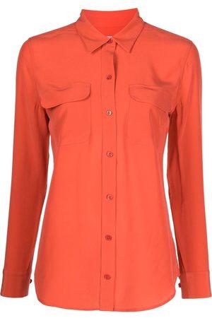 Equipment Mujer Camisas - Camisa de seda con corte slim
