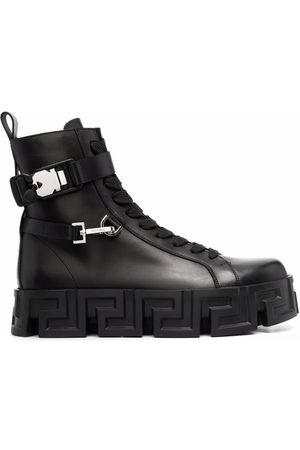 VERSACE Hombre Botines - Greca-sole ankle boots