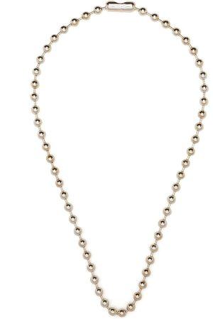 Takahiromiyashita The Soloist Collar con cadena de esferas
