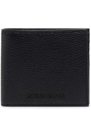 Emporio Armani Hombre Carteras y monederos - Grained embossed-logo wallet