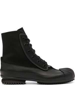 Maison Margiela Panelled ankle-length boots