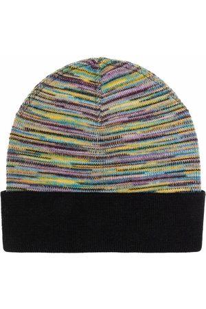 Missoni Mujer Gorros - Striped wool-knit beanie