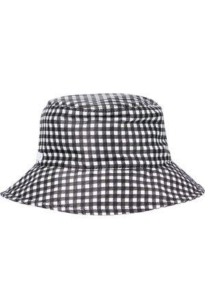 Miu Miu Mujer Sombreros - Sombrero de pescador de faya de seda