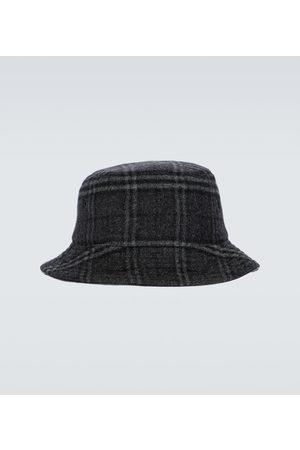 Burberry Hombre Sombreros - Sombrero de pescador de lana y cachemir