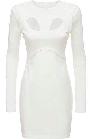 DION LEE   Mujer Vestido De Punto De Algodón Xs