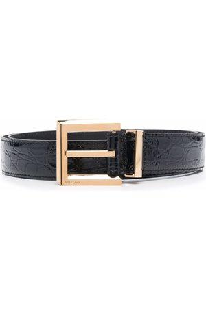 VERSACE Hombre Cinturones - Cinturón con hebilla cuadrada
