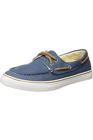 Springfield Hombre Loafers - Nautico Canvas, Hombre, (Blue)