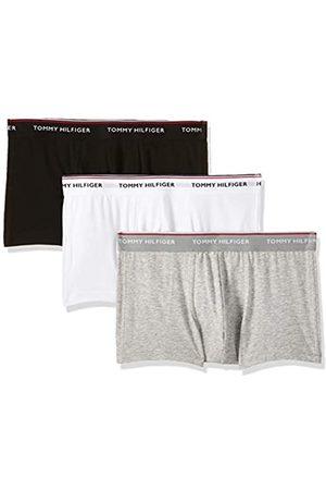 Tommy Hilfiger 3p Lr Trunk Boxer, (Black/White/Grey Heather 004)