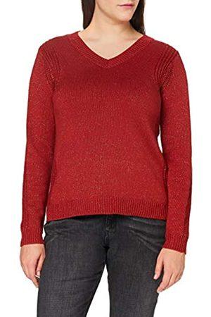Blue Seven Damen Pullover, V-Ausschnitt Suéter