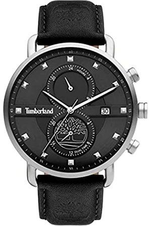 Timberland Reloj Analógico para Hombre de Cuarzo con Correa en Cuero TDWGF2101002