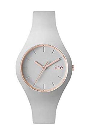 Ice-Watch Ice Glam Pastel Wind - Reloj Gris para Mujer con Correa de Silicona