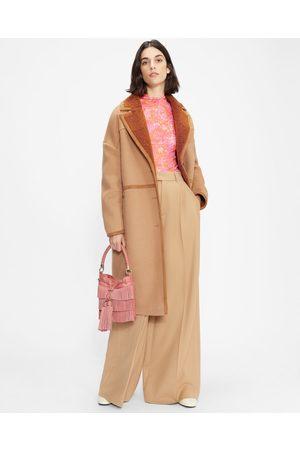 Ted Baker Mujer De entretiempo - Oversized Wool Cocoon Coat