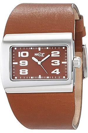 Nice Reloj Análogo clásico para Mujer de Cuarzo con Correa en Cuero 4243/07