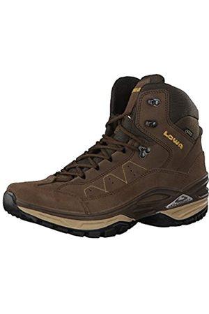 Lowa Toro II GTX Mid, Zapatos de Senderismo Hombre, (Espresso/senf)