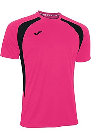 Joma 100014.031 - Camiseta de equipación de Manga Corta para Hombre, Color flúor/