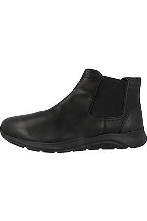 Geox Man U DAMIANO F ANKLE BOOTS BLACK_45 EU