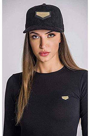 Gianni Kavanagh Black Cap with Gold GK Plaque Gorra de béisbol