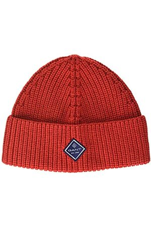 GANT D1. Cotton Rib Knit Hat Orejeras Talla única para Hombre